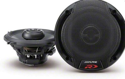 Alpine R-Series 5-1/4 in. Coaxial 2-Way Speakers - 90W (82-93 All)