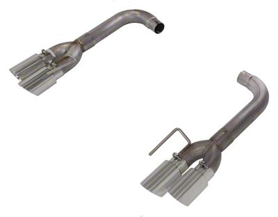 Pypes Pype-Bomb Axle-Back Exhaust w/ Polished Tips (18-19 GT w/o Active Exhaust)