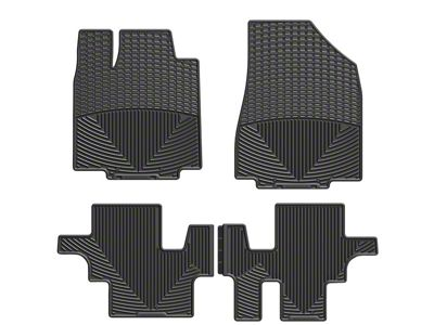 Weathertech All Weather Front & Rear Rubber Floor Mats - Black (10-14 All)
