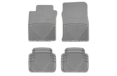 Weathertech All Weather Front & Rear Rubber Floor Mats - Gray (05-09 All)