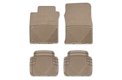 Weathertech All Weather Front & Rear Rubber Floor Mats - Tan (05-09 All)