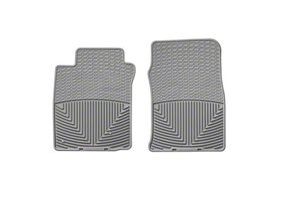 Weathertech All Weather Front Rubber Floor Mats - Gray (05-09 All)