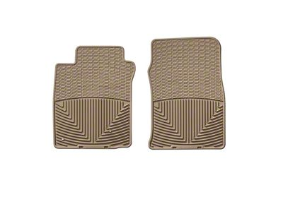 Weathertech All Weather Front Rubber Floor Mats - Tan (05-09 All)