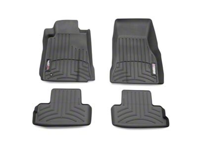 Weathertech DigitalFit Front & Rear Floor Liners - Black (05-09 All)