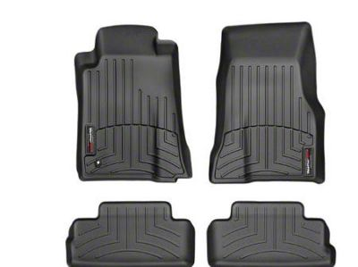 Weathertech DigitalFit Front & Rear Floor Liners - Black (2010 All)