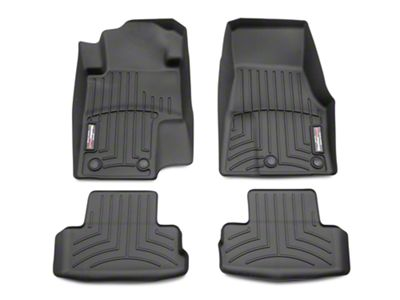 Weathertech DigitalFit Front & Rear Floor Liners - Black (11-14 All)
