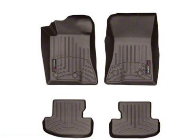 Weathertech DigitalFit Front & Rear Floor Liners - Cocoa (15-19 All)