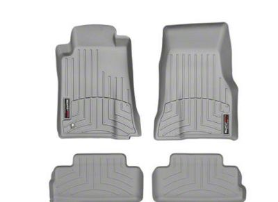 Weathertech DigitalFit Front & Rear Floor Liners - Gray (05-09 All)