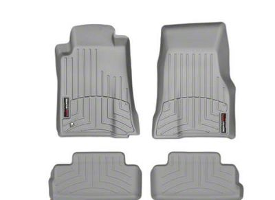 Weathertech DigitalFit Front & Rear Floor Liners - Gray (2010 All)