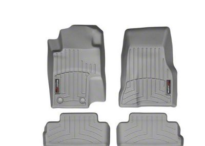 Weathertech DigitalFit Front & Rear Floor Liners - Gray (11-14 All)