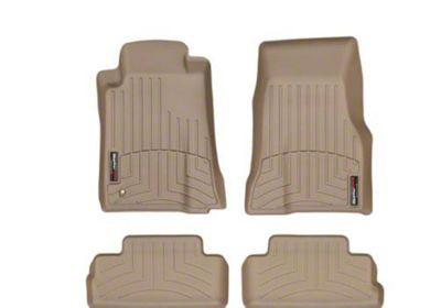 Weathertech DigitalFit Front & Rear Floor Liners - Tan (05-09 All)