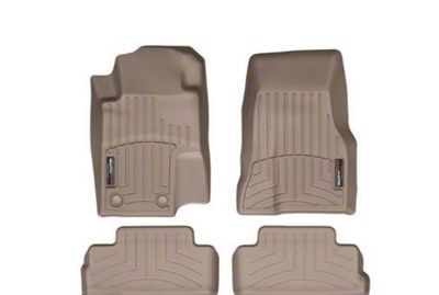 Weathertech DigitalFit Front & Rear Floor Liners - Tan (2010 All)