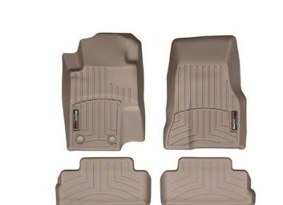 Weathertech DigitalFit Front & Rear Floor Liners - Tan (11-14 All)