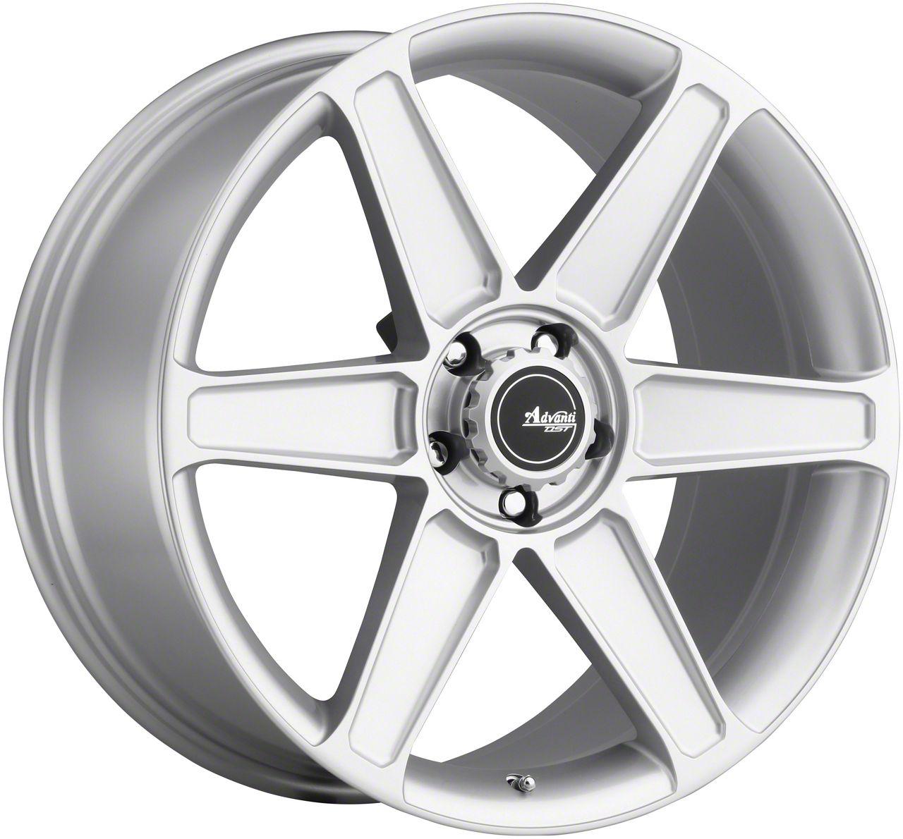 Advanti Woodward Flash Silver Wheel - 20x10 (05-14 All)