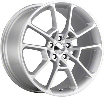 Advanti Fury Flash Silver Wheel - 19x9 (15-19 GT, EcoBoost, V6)
