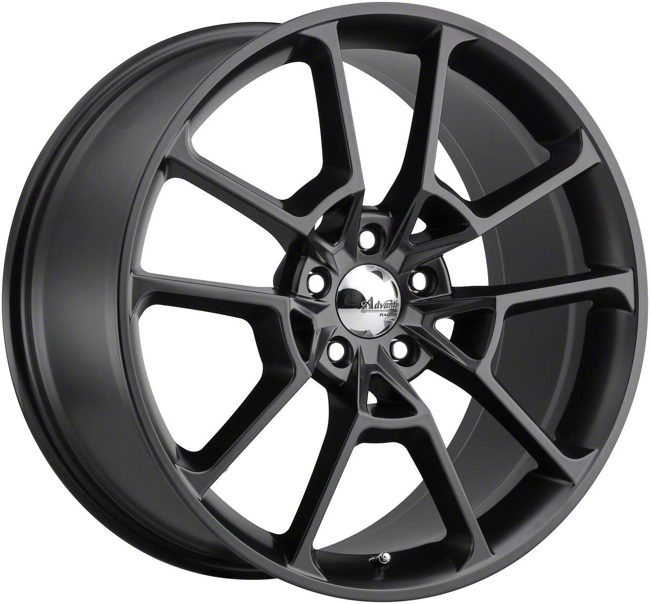 Advanti Fury Matte Black Wheel - 19x9 (15-19 GT, EcoBoost, V6)