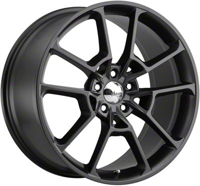 Advanti Fury Matte Black Wheel - 20x10 (05-14 All)