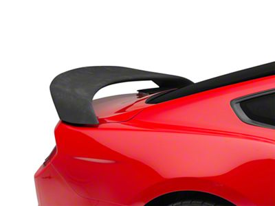 Icon Composites GT350R Track Edition TrueFit Rear Spoiler - Unpainted (15-19 Fastback)