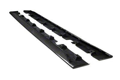 Icon Composites Razor TrueFit Side Skirts - Carbon Fiber (15-19 GT, EcoBoost, V6)