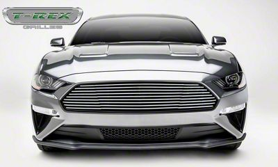 T-REX Billet Series Upper Grille - Polished (18-19 GT)