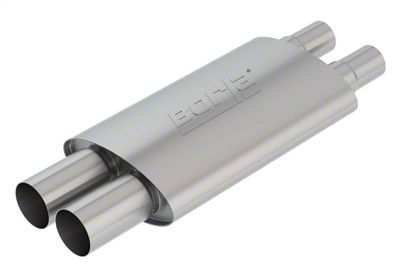 Borla Resonator Muffler (18-19 GT w/ Active Exhaust)