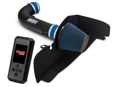 BBK Black Out Cold Air Intake & VMP Rev-X Tuner (15-17 GT Stock or w/ Bolt-On Mods)