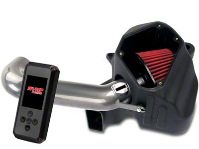 AEM Gunmetal Brute Force Cold Air Intake & VMP Rev-X Tuner (11-14 GT Stock or w/ Bolt-On Mods)
