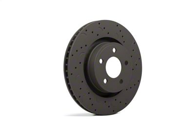 Hawk Performance Talon Cross-Drilled & Slotted Rotors - Front Pair (11-14 GT Brembo; 12-13 BOSS 302; 07-12 GT500)