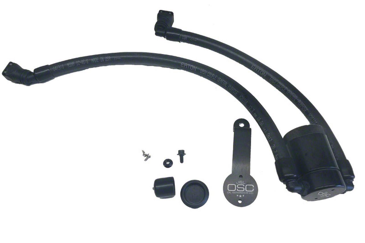 JLT V3.0 Black Oil Separator - Driver Side (18-19 GT)