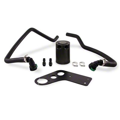 Mishimoto Baffled Oil Catch Can - Passenger Side (15-17 GT)