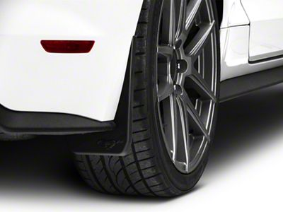 MMD Splash Guards w/ Pony Logo - Rear Pair (15-17 GT, EcoBoost, V6)