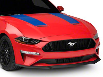 American Muscle Graphics Hood Stripes - Blue (18-19 GT, EcoBoost)
