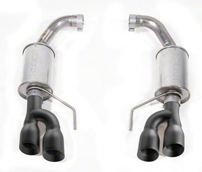 Roush Axle-Back Exhaust w/ Black Tips (18-19 GT w/o Active Exhaust)