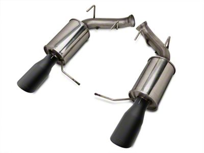 Roush Axle-Back Exhaust w/ Black Tips (11-14 GT; 11-12 GT500)