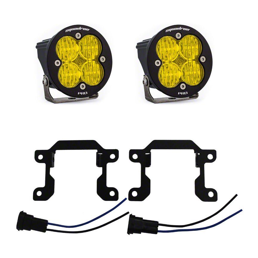Baja Designs Rally Innovations Squadron Pro LED Fog Lights (15-17 GT, EcoBoost, V6)