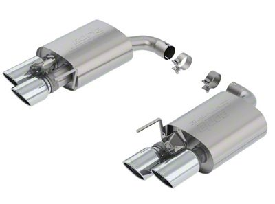 Borla Stinger S-Type Axle-Back Exhaust (18-19 GT w/ Active Exhaust)