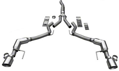 Solo Performance Cat-Back Exhaust (15-19 EcoBoost Fastback w/o Active Exhaust)
