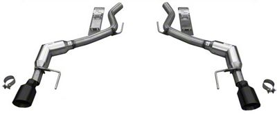 Solo Performance Axle-Back Exhaust w/ Black Tips (15-19 EcoBoost Fastback w/o Active Exhaust)