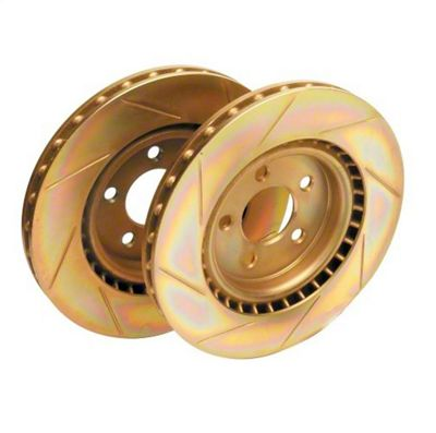 Ford Performance Slotted Rotors - Front Pair (2000 Cobra R)