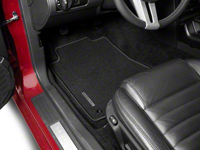 Ford Performance Front Floor Mats w/ Mustang Logo - Black (05-09 All)