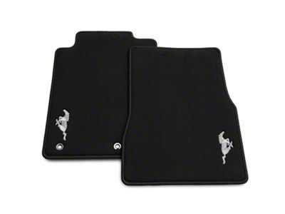 Ford Performance Front Floor Mats w/ Pony Logo - Black (2010 All)