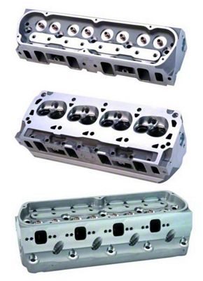 Ford Performance 302/351W Z-Head Aluminum Cylinder Head w/ 7mm Valves - 63cc