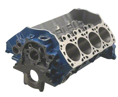 Ford Performance BOSS 351 Engine Block - 9.5 in. Deck