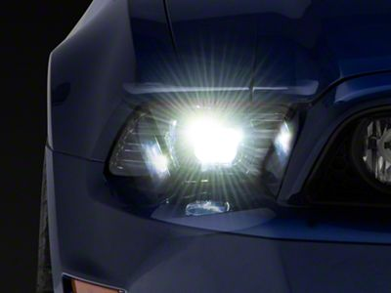 Morimoto Black XB Projector Headlights (13-14 GT, V6)