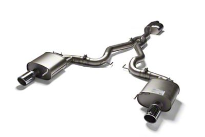 Remus Sport Active Cat-Back Exhaust w/ Angled Cut Chrome Tips (15-19 EcoBoost w/o Active Exhaust)