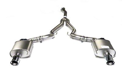 Remus Race Active Cat-Back Exhaust w/ Straight Cut Chrome Tips (15-19 EcoBoost w/o Active Exhaust)