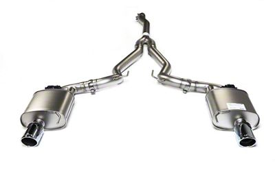 Remus Race Active Cat-Back Exhaust w/ Angled Cut Chrome Tips (15-19 EcoBoost w/o Active Exhaust)