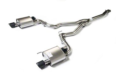 Remus Race Active Cat-Back Exhaust w/ Carbon Fiber Tips (15-19 EcoBoost w/o Active Exhaust)