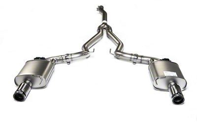 Remus Race Active Cat-Back Exhaust w/ Stainless Tips (15-19 EcoBoost w/o Active Exhaust)