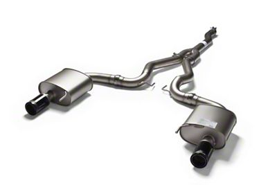 Remus Race Cat-Back Exhaust w/ Black Chrome Tips (15-19 EcoBoost w/o Active Exhaust)